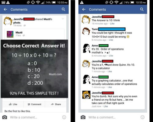 school drama unfriend math failbook - 8467056384