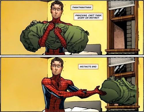 superheroes-spider-man-marvel-instincts-bad-reaction-panel