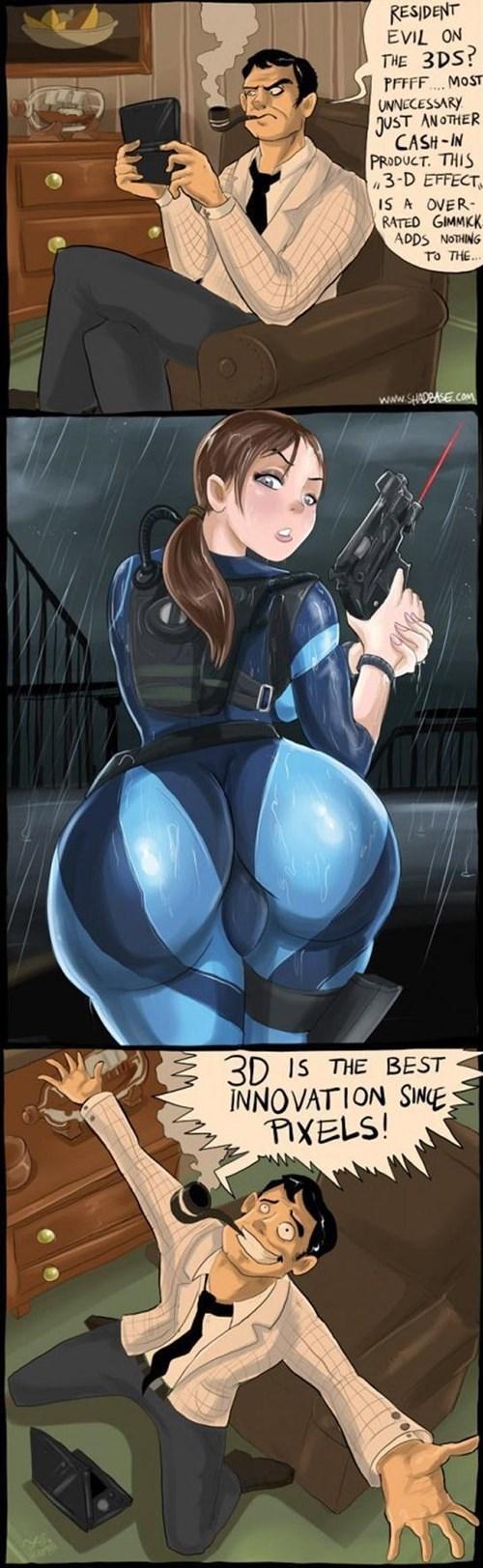 3d resident evil web comics - 8467097088