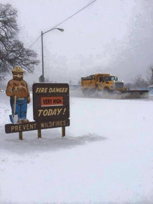 fires Smokey the Bear wisconsin - 8467158272