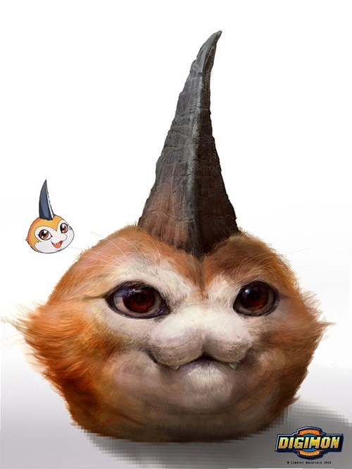 pokemon memes digimon realistic tsunomon