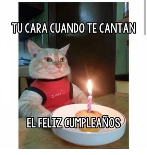 tu cara de cumpleaños