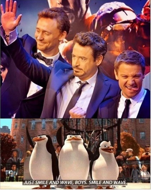 Looking Pretty Darn Good In Their Penguin Suits