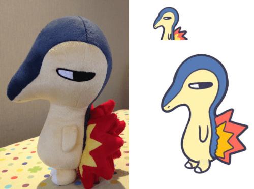 pokemon memes cyndaquil plush