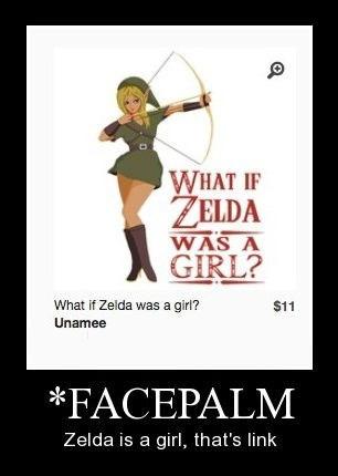 wtf facepalm zelda funny - 8467621888