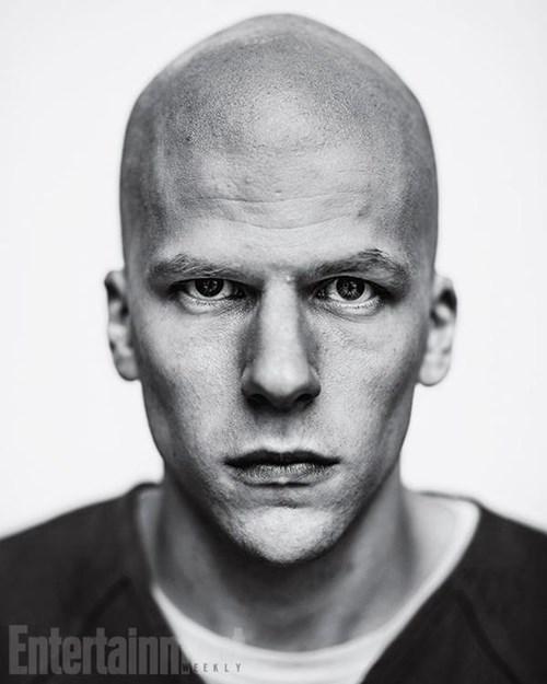 superhero memes news jesse eisenberg lex luthor first pic
