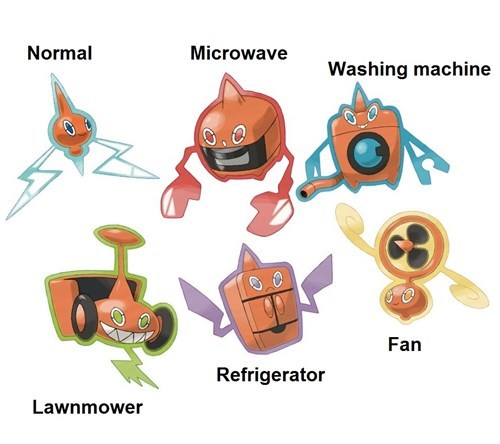 rotom,i c wut u did there,pokemon variations
