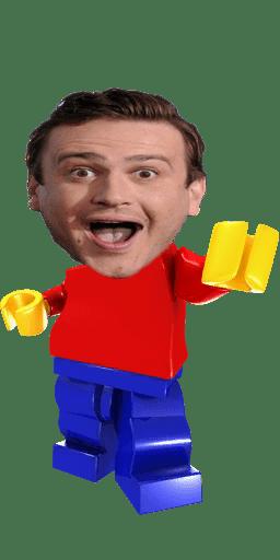 cartoon memes news jason segel lego spinoff billion brick race