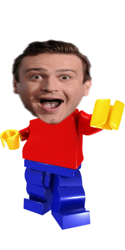 cartoon memes news jason segel lego spinoff billion brick race