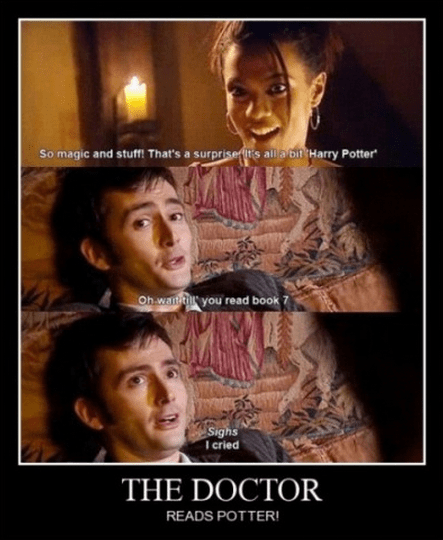 Harry Potter,the doctor,doctor who,funny