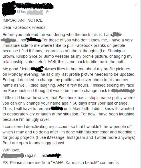 funny-facebook-pic-cringe-karma-name-change