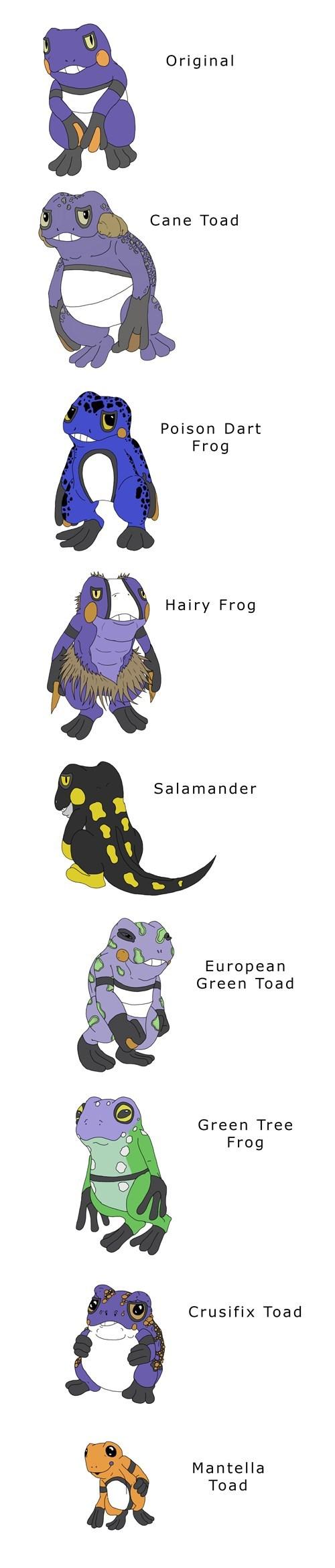 groagunk Fan Art pokemon variations - 8468987904