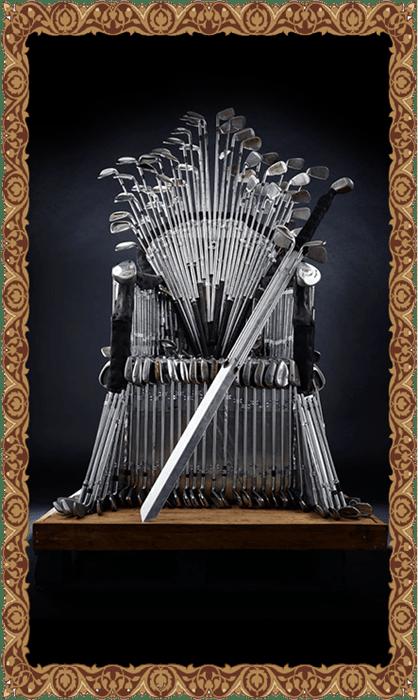 9 iron throne