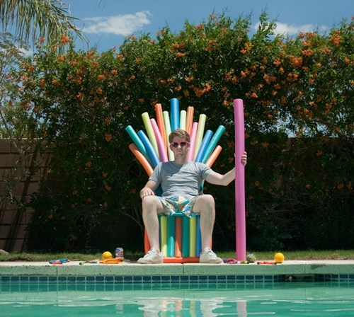 pool noodle iron throne