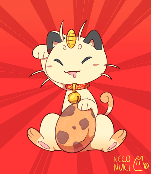 pokemon memes meowth fan art