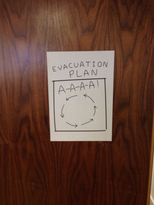 funny-office-pic-emergency-evacuation-plan