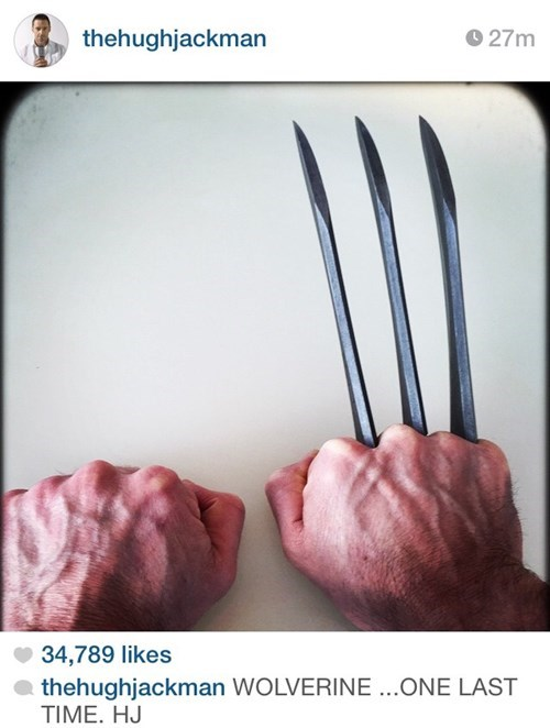 superheroes-wolverine-marvel-hugh-jackman-instagram-one-last-time