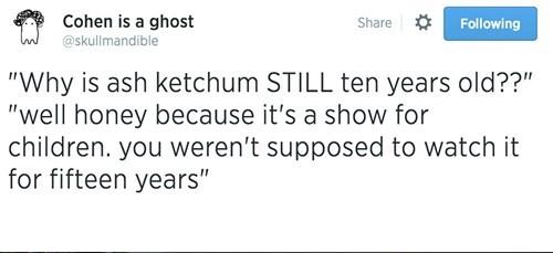 pokemon memes ash ketchum childrens show