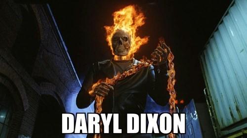 funny-walking-dead-daryl-dixon-ghost-rider