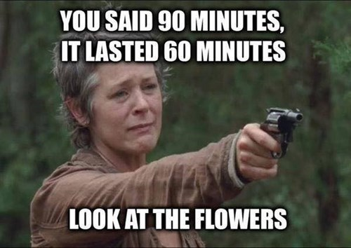 funny-walking-dead-carol-90-minutes-flowers