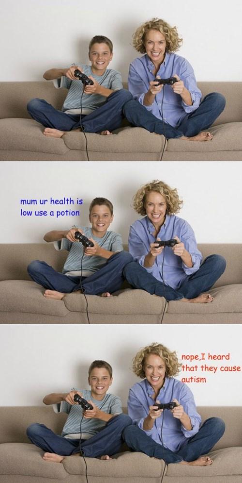 video-games-mom-no