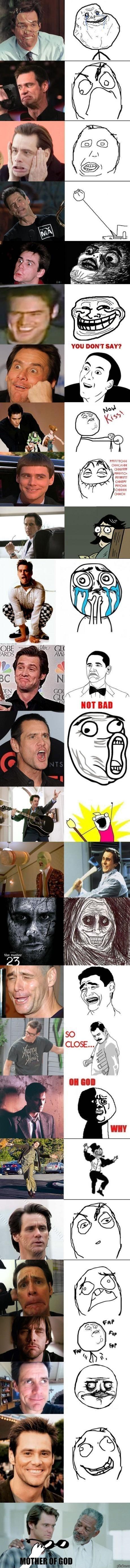 Jim Carrey, el padre de todo meme