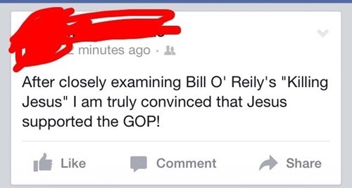 funny-facebook-pic-bill-o-reily-politics-jesus