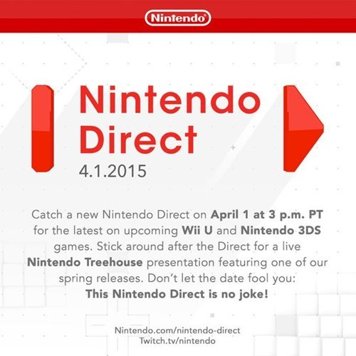 check out an upcoming spring release in the nintendo treehouse