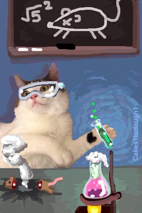 arttist draws cat art on snapchat list