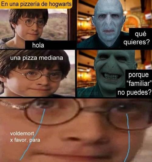 Voldemort es cruel