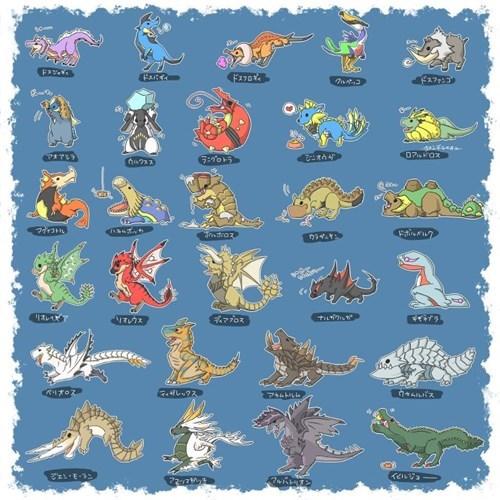 pokemon memes monster hunter april fools