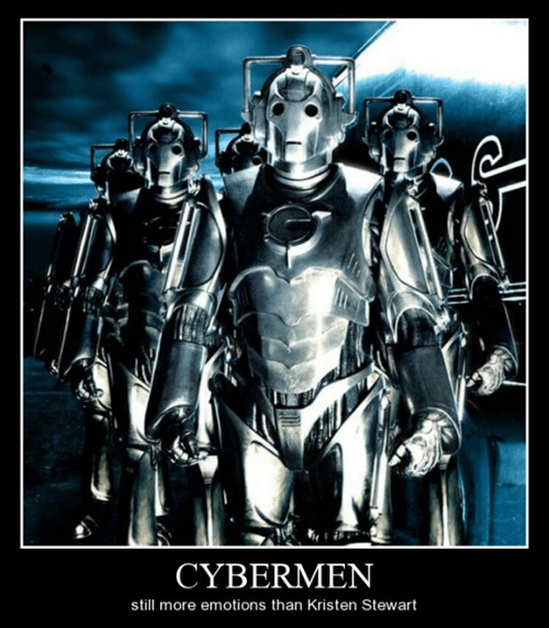 cybermen,doctor who,twilight,funny