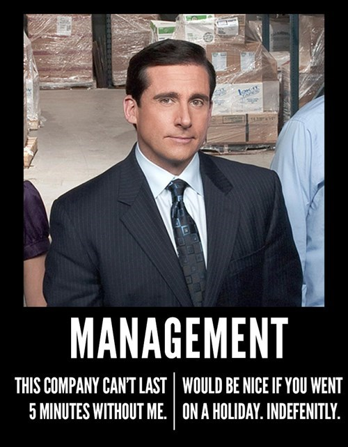 michael scott is an excellent manager