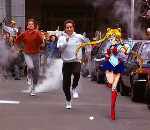 crossover sailor moon seinfeld - 8471393536