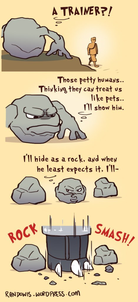 Fan Art geodude web comics - 8471424768