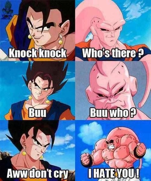 anime Dragon Ball Z knock knock jokes - 8471753472