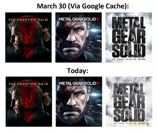 make up your mind konami!