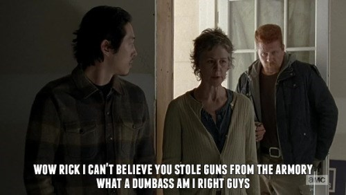 funny-walking-dead-carol-peletier-throws-rick-under-bus-guns-meme