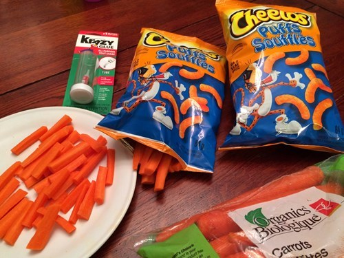 funny-parenting-pic-carrots-cheetos-prank