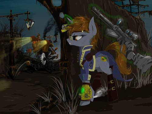 awesome MLP fallout fnart - 8471955456