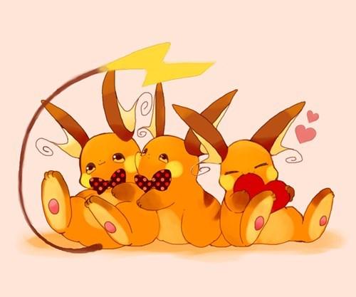 pokemon memes raichu bowtie fan art