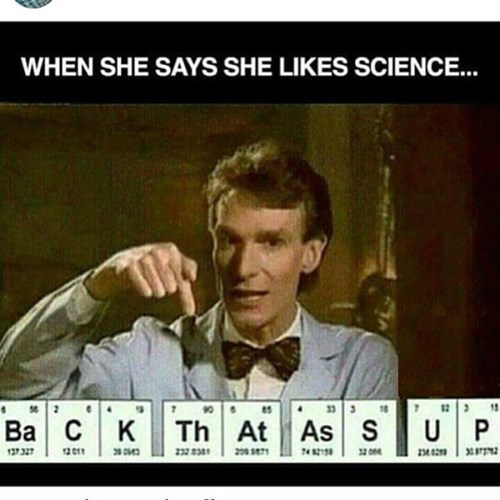 bill nye loves the booty