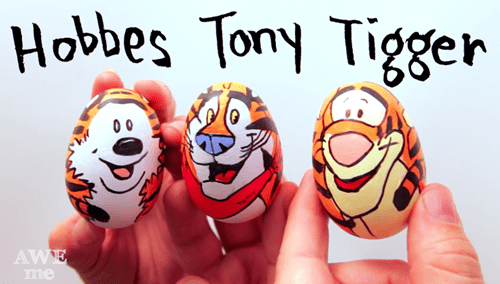 famous tiger easter eggs