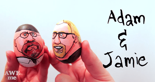 mythbusters easter eggs