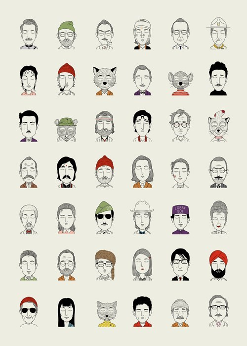 Wes Anderson art - 8472791296