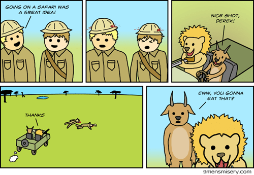 funny-web-comics-safaris-sure-have-changed