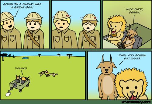 funny-web-comics-safaris-sure-have-changed