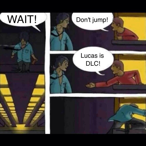 Lucas Saved My Life