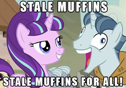 sunset glimmer muffins - 8473441280