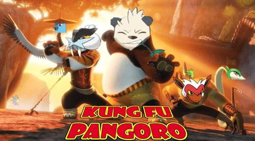 crossover Kung Fu Panda Fan Art Pangoro - 8473851904